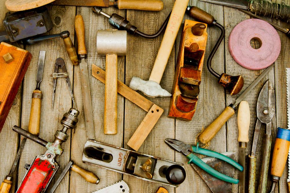 Messy Tools.