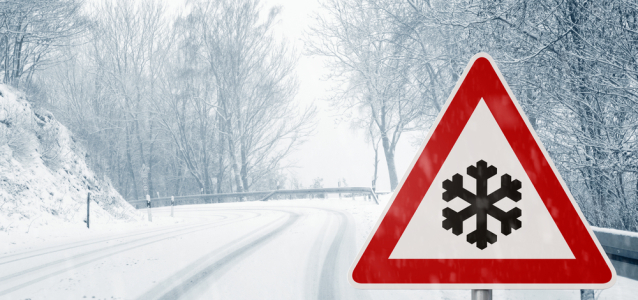 Icy Weather Warning