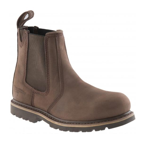 Buckler B1150SM Buckflex Safety Work Boots Chocolate Oil