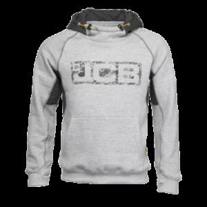JCB Horton Hoodie Grey, workwear