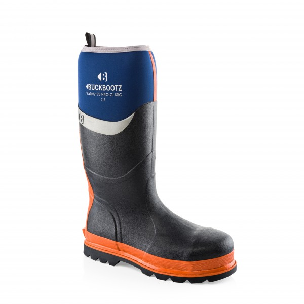 Buckler BBZ6000BL Waterproof Rubber Safety Wellington Boots Blue