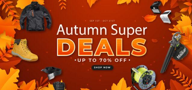 Autumn Super Deals Sale Now on