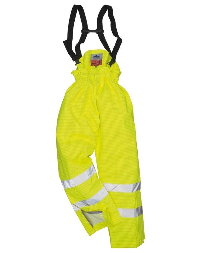 cefdd75edba5 Portwest Yellow Trousers with Braces S780