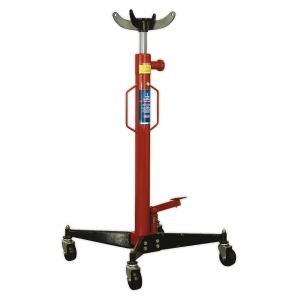 Sealey Hydraulic Vertical Transmission Trolley Jack 1-Tonne 1950mm