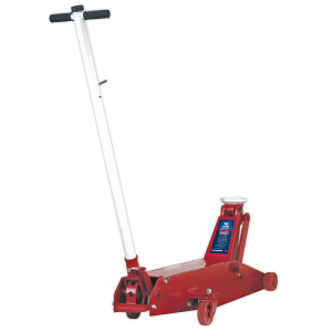 Sealey Premier Hydraulic Long Reach Trolley Jack 10-Tonne