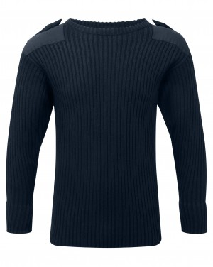 Fort Crew Neck Combat Sweatshirt Jumper Navy (Sizes S-XXXXL)