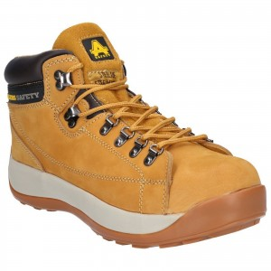 Amblers FS122 Safety Work Boots Tan Honey (Sizes 3-13)