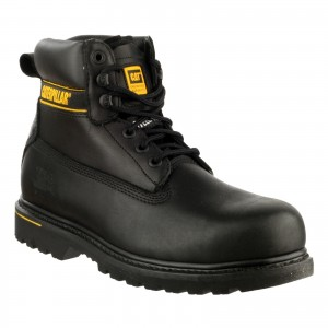 Caterpillar Holton S3 Safety Work Boots Black (Sizes 6-13)
