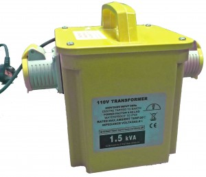 1.5kva Power Tool Rated Site Transformer