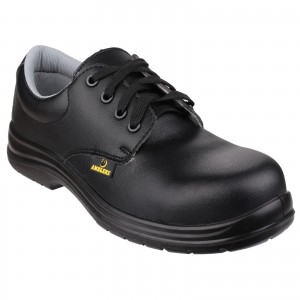 Amblers FS662 Safety Work Shoes Black (Sizes 3-12)