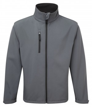 Fort Selkirk Waterproof Softshell Work Jacket Grey (Sizes XS-XXXL)