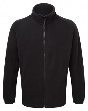 Fort Melrose Full Zip Fleece Jacket Black (Sizes S-XXL)