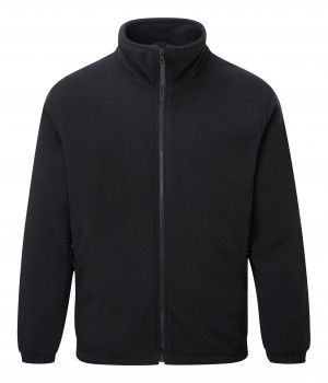 Fort Lomond Full Zip Fleece Jacket Black (Sizes S-XXL)