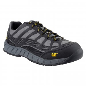 Caterpillar Streamline Safety Work Trainer Shoes Grey (Sizes 6-12)
