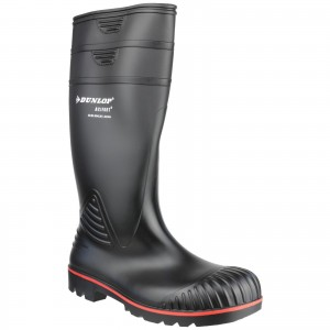 Dunlop Acifort Heavy Duty Safety Wellington Work Boots Black (Sizes 6.5-13)