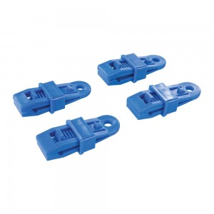 Silverline Tarpaulin Clips Pack of 4