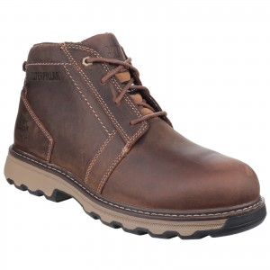 Caterpillar Parker Safety Work Boots Brown (Sizes 6-12)