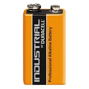 Duracell Industrial 9v Batteries (Pack of 10)