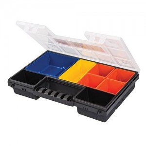 Silverline Compartment Organiser Toolbox (Various Sizes)