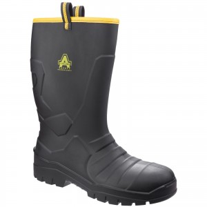 Amblers AS1008 Safety Rigger Work Boots Black (Sizes 3-12)