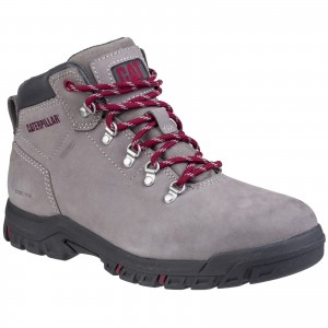 Caterpillar Mae Womens Waterproof Safety Work Boots Grey (Sizes 3-8)