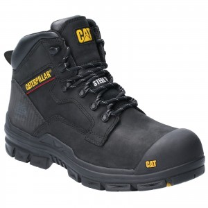 Caterpillar Bearing Safety Work Boots Black (Sizes 6-12)