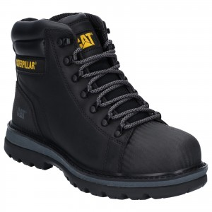 Caterpillar Foxfield Safety Work Boots Black (Sizes 6-12)