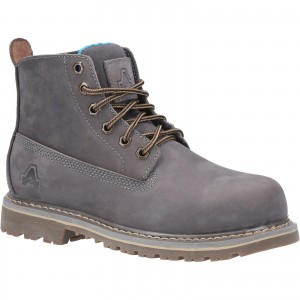 Amblers AS105 Mimi Womens Safety Work Boots Grey (Sizes 3-8)