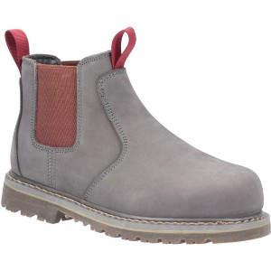 Amblers AS106 Sarah Womens Safety Dealer Work Boots Grey (Sizes 3-8)