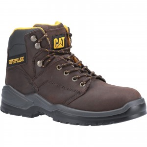 Caterpillar Striver Safety Work Boots Brown (Sizes 6-13)