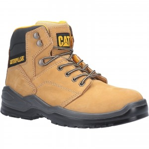 Caterpillar Striver Safety Work Boots Tan Honey (Sizes 6-13)