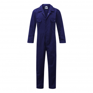 Fort One-Piece Mechanics Coveralls Royal Blue (Sizes S-XXL)