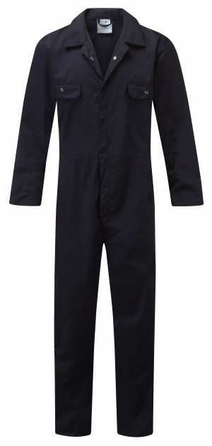 Fort One-Piece Mechanics Coveralls Navy (Sizes S-XXL)