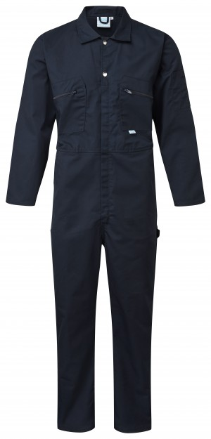 Fort Full Zip One-Piece Mechanics Coveralls Navy (Various Sizes)