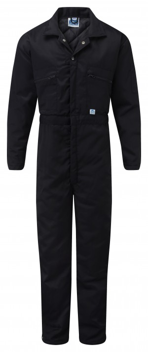 Fort Padded Full Zip One-Piece Mechanics Coveralls Navy (Sizes S-XXL)