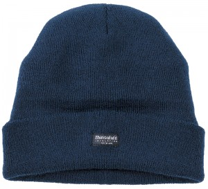 Tuffstuff Knitted Thinsulate Beanie Hat Navy