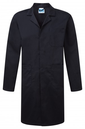 Fort Warehouse Work Over Coat Navy (Sizes XS-XXL)