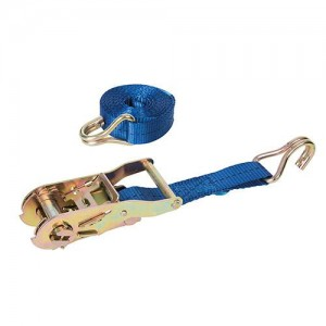 Silverline Ratchet Tie Down Strap J-Hook (Various Sizes)