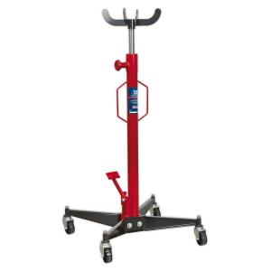 Sealey Hydraulic Vertical Transmission Trolley Jack 0.5-Tonne