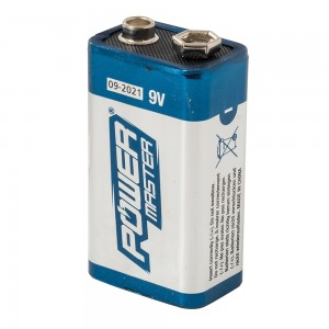 PowerMaster Single 9V Super Alkaline Battery 6LR61