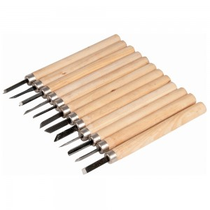 Task Wood Carving Chisel Set 12 Piece