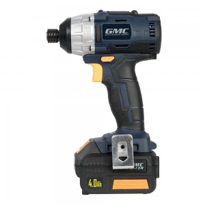 GMC GMBL18ID 18V Li-Ion Brushless Impact Driver with Carry Case & Charger