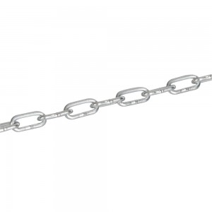 Fixman Electro Galvanised Chain 2.5m Length (Various Options)