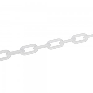 Fixman Plastic Chain White 6mm x 5m