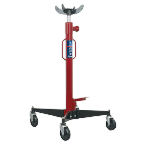 Sealey Premier Hydraulic Vertical Transmission Trolley Jack 0.6-Tonne