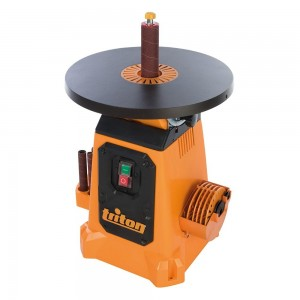 Triton TSPS370 350W Oscillating Tilting Table Spindle Sander - 380mm