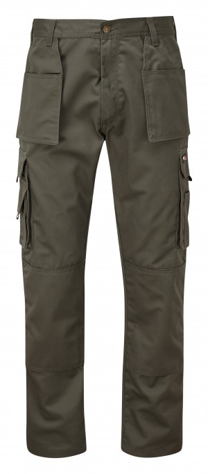 Tuffstuff Pro Trade Work Trousers Green (Various Sizes)