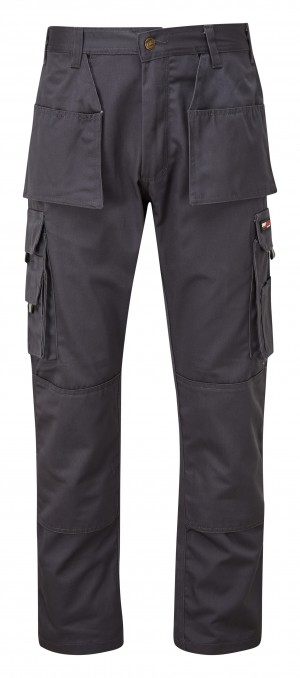 Tuffstuff Pro Trade Work Trousers Grey (Various Sizes)
