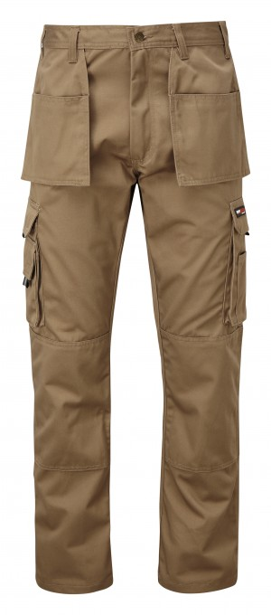 Tuffstuff Pro Trade Work Trousers Stone Brown (Various Sizes)