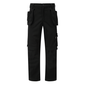 Tuffstuff Pro Flex Slim Fit Trade Work Trousers Black (Various Sizes)